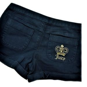 Juicy Couture Shorts Navy Blue M
